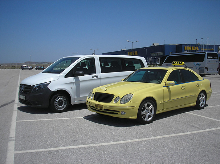 Our Taxis in Athens Airport